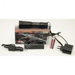 A1462 Фонарик аккумуляторный T6 автомобильная зарядка